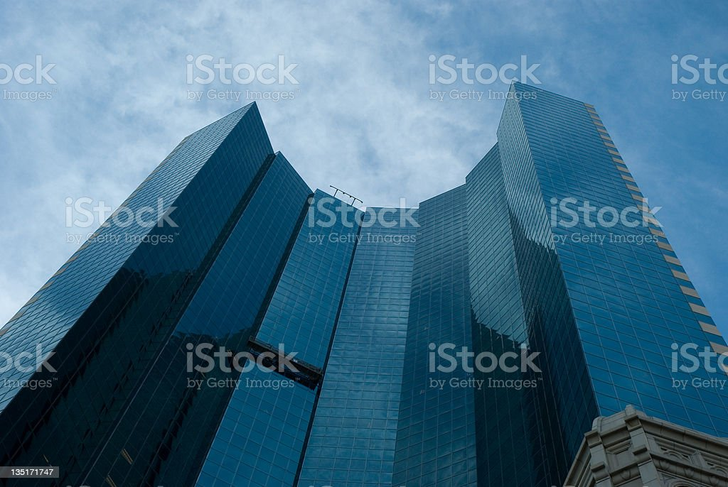 Glass Office Building in Denver stock photo