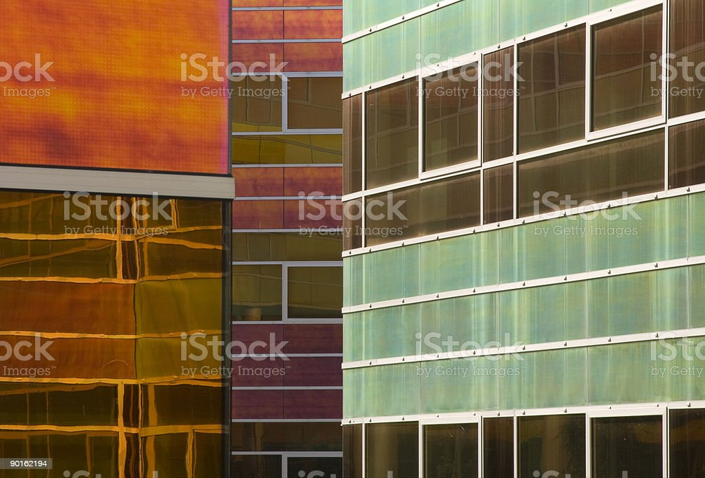 Glass office building royalty-free stock photo