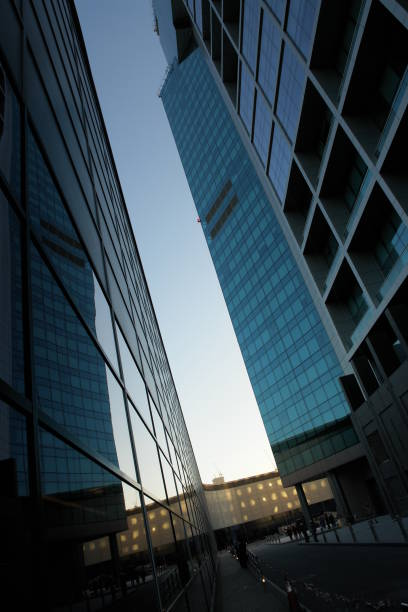 Glass Office Buildings  deem stock pictures, royalty-free photos & images