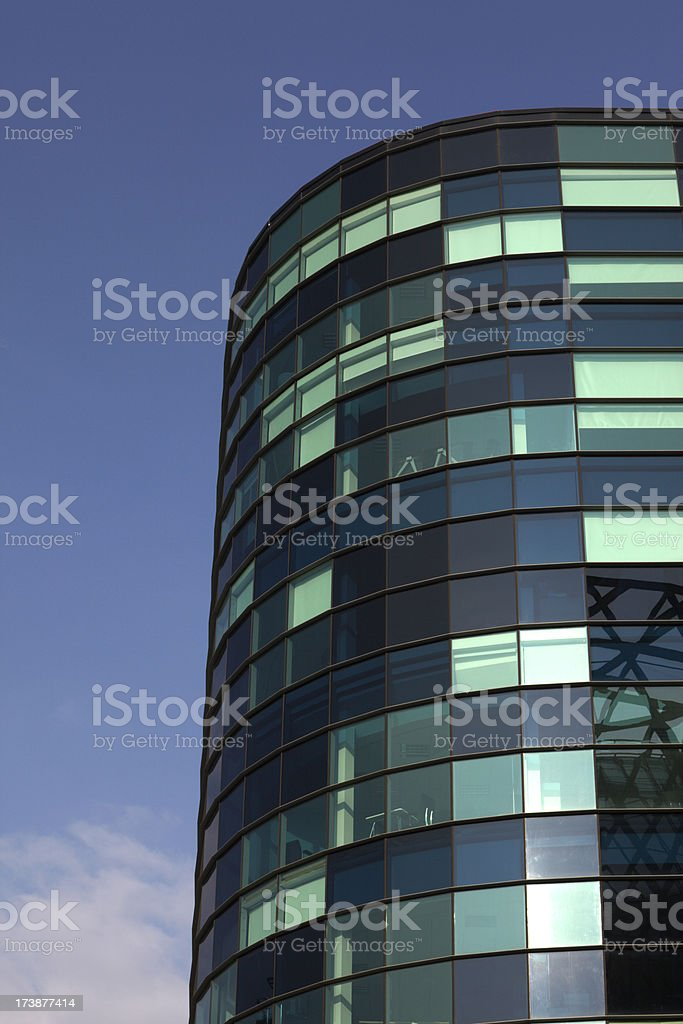 Glass Office Tower royalty-free stock photo