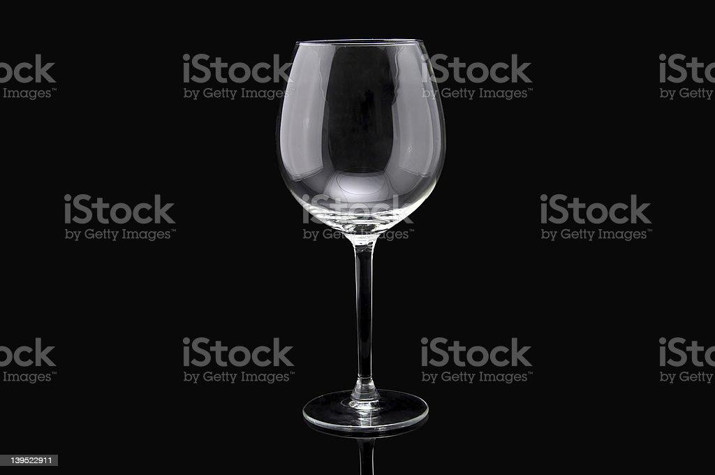 Glass royalty-free stock photo