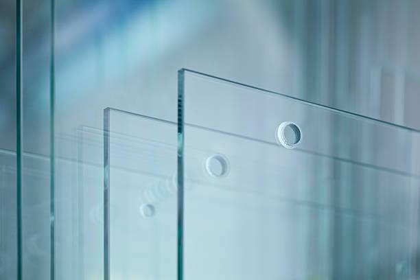 De vidrio - foto de stock