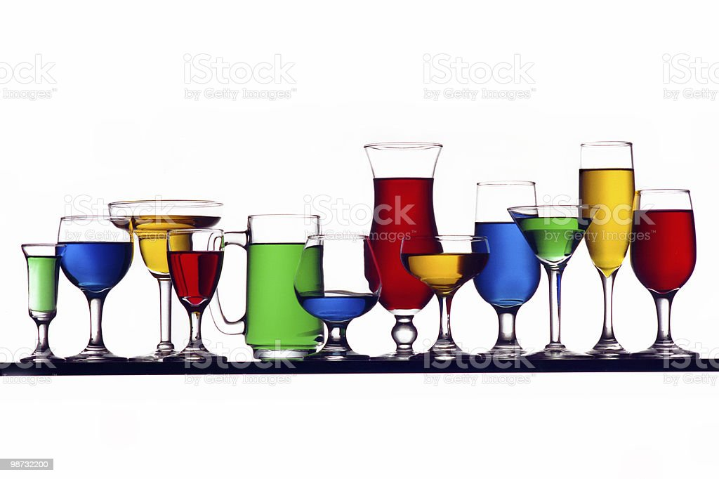 glass rainbow royalty-free stock photo