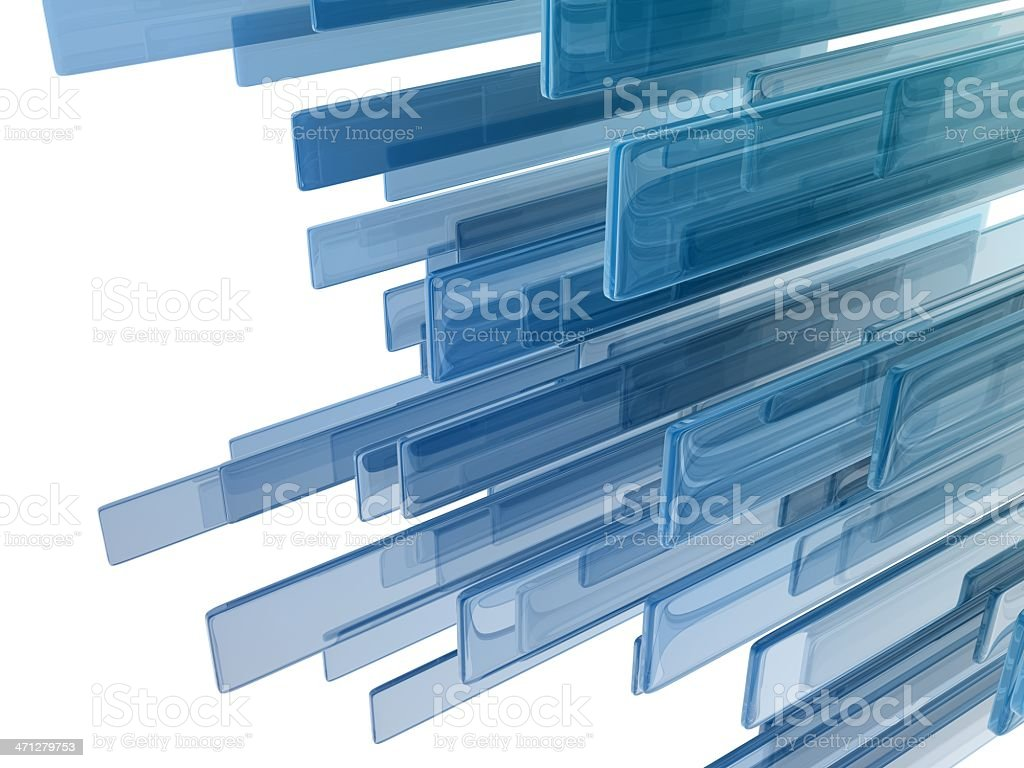 glass rectangles royalty-free stock photo