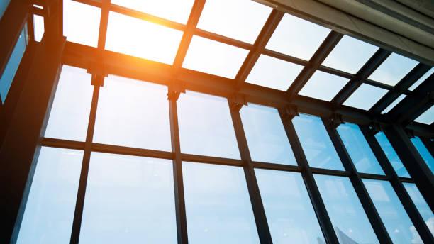 Glasdach des modernen Gebäude – Foto