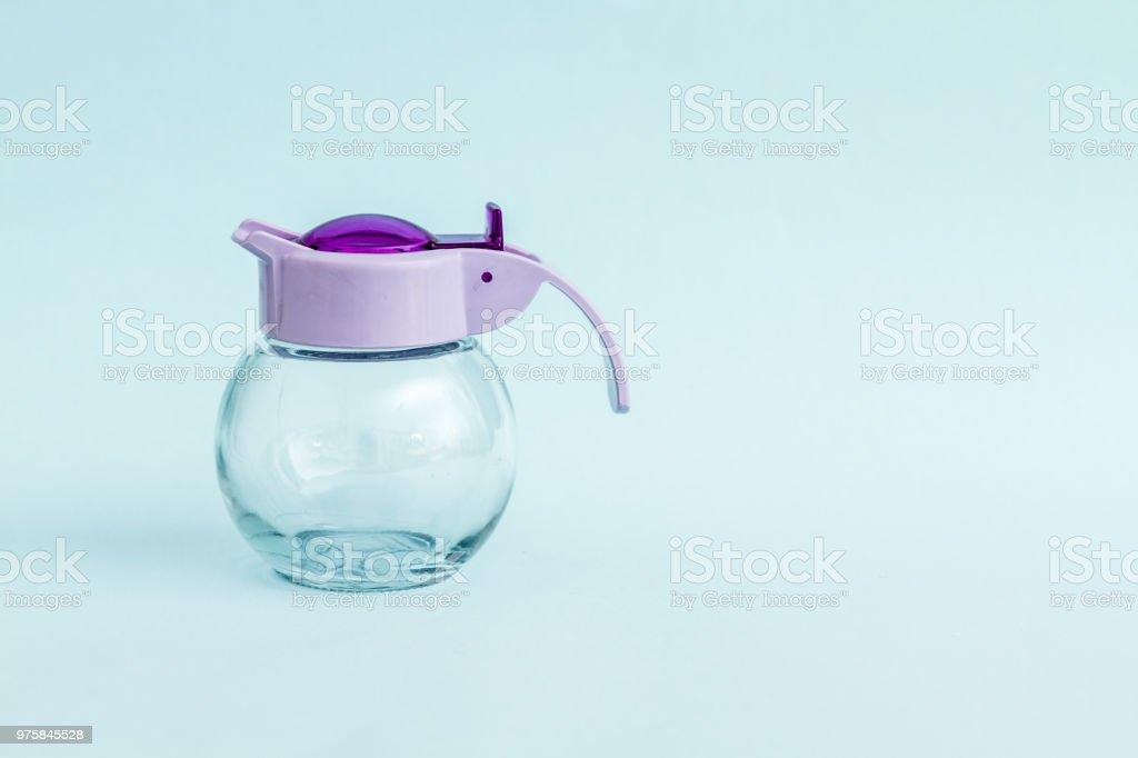 Glas-Runde Gläser mit bunten griffen - Lizenzfrei Atelier Stock-Foto