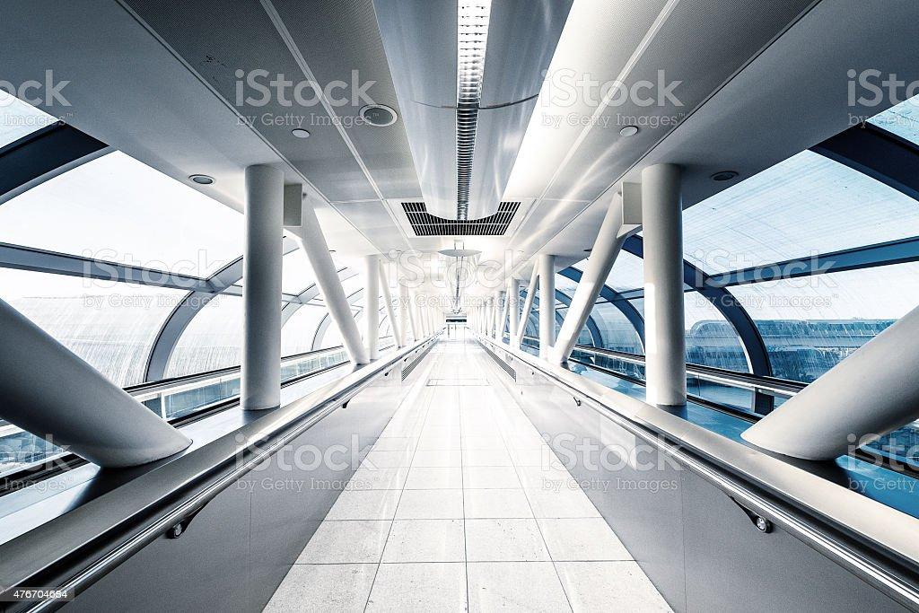 Glass Skywalk stock photo