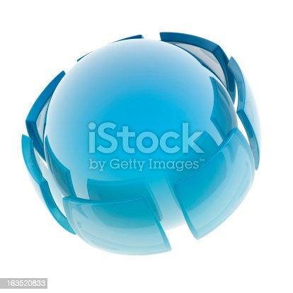 182110964 istock photo glass sphere 163520833