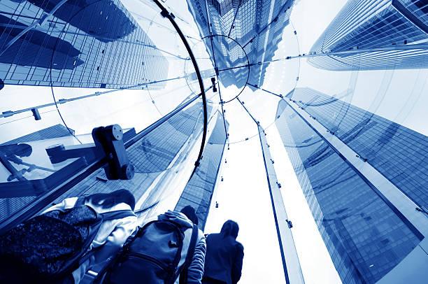 Wendeltreppe aus Glas – Foto