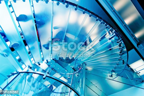 istock Glass Staircase 181180587