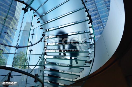 istock Glass Staircase 467519767