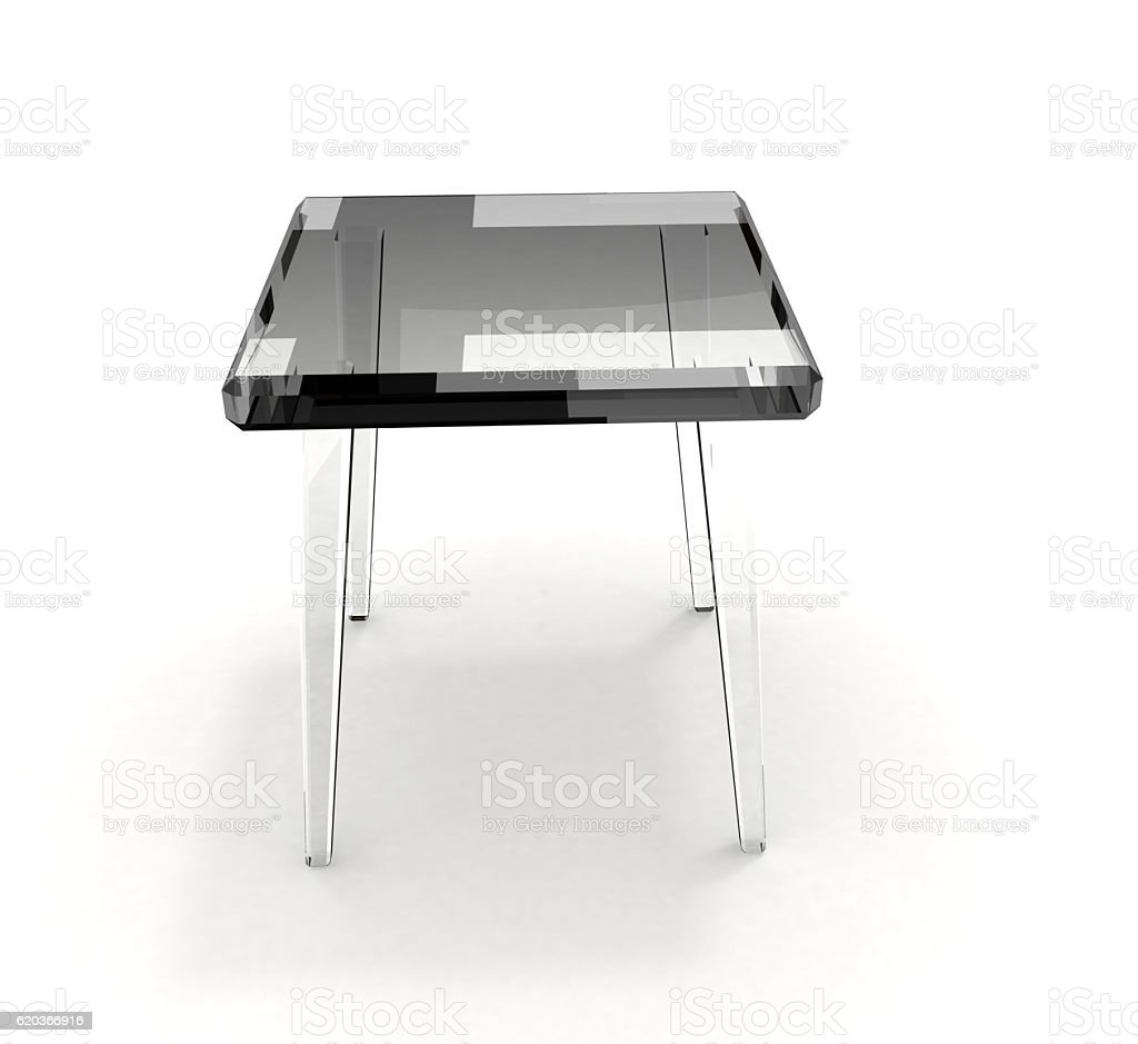 Glass stool foto de stock royalty-free
