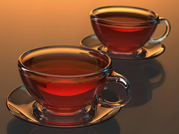 Verre teacup-Expression anglo-saxonne - Photo