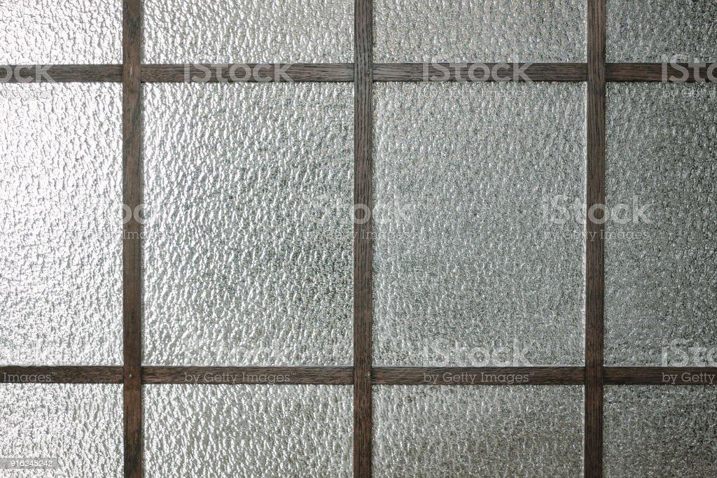 Glass texture pattern stock photo