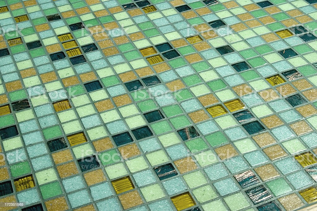 Glass Tile Grid royalty-free stock photo
