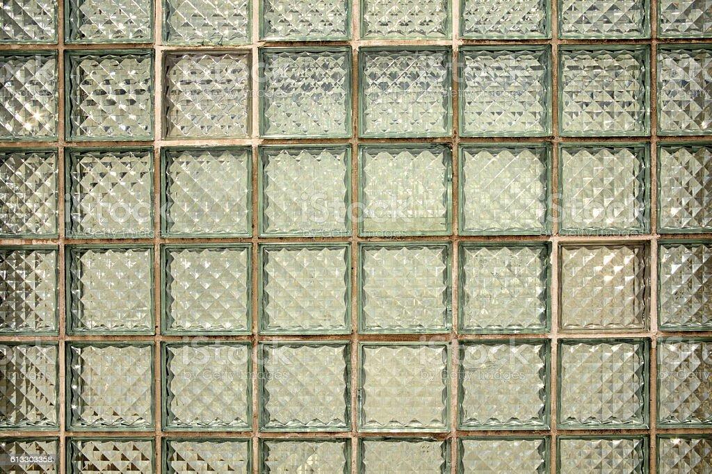 Mattonelle di vetro verde blu striscia di vetro mattonelle di