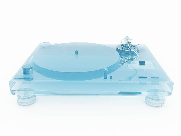 3D Glass Turntable stock photo