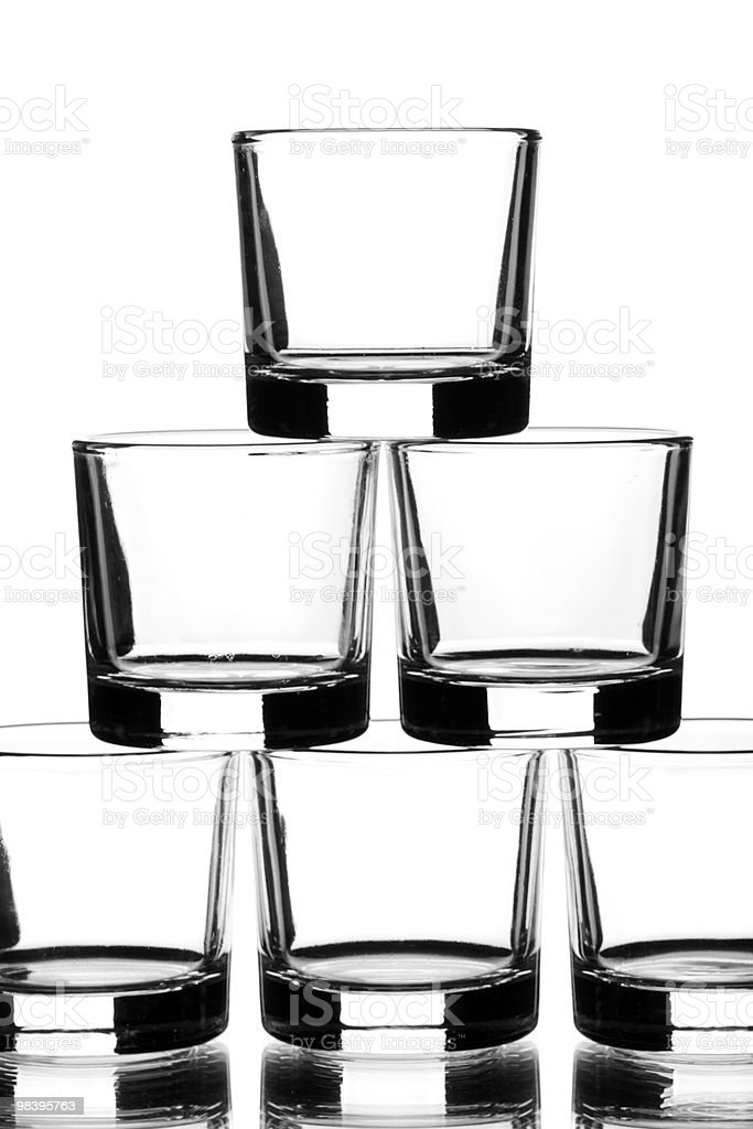 glass up royalty-free stock photo