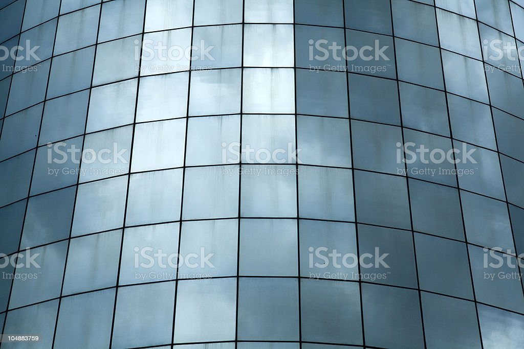 Glass wall royalty-free stock photo