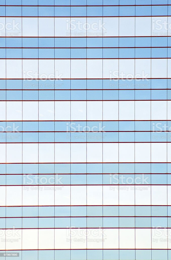glass wall royalty free stockfoto