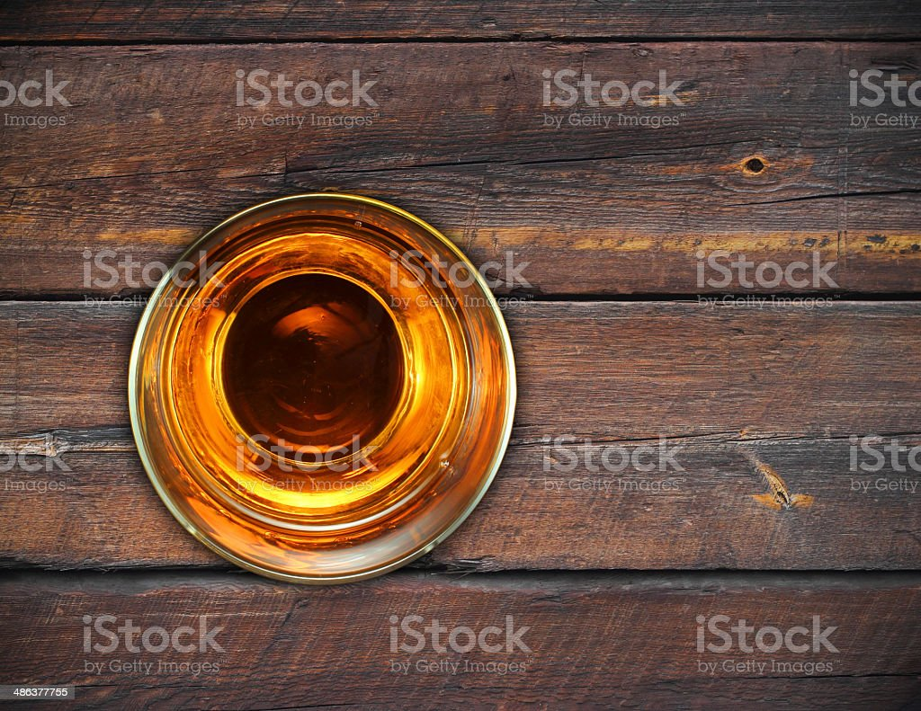 glass whiskey vintage wooden background royalty-free stock photo