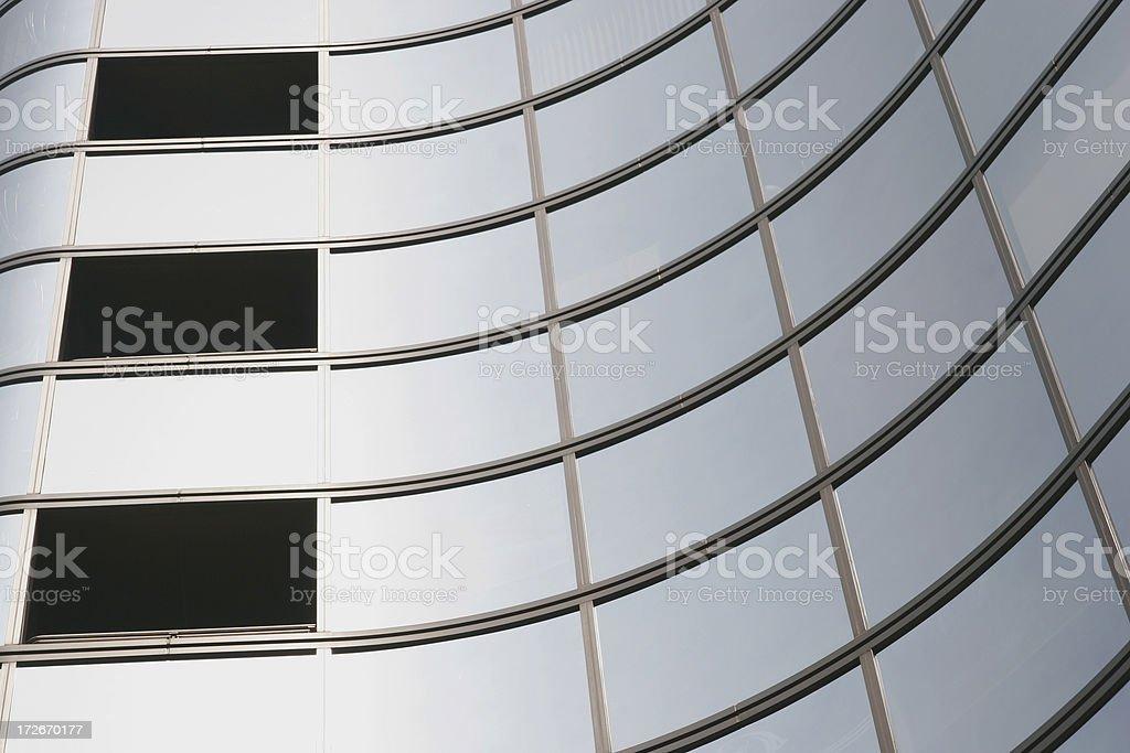 Glass windows royalty-free stock photo