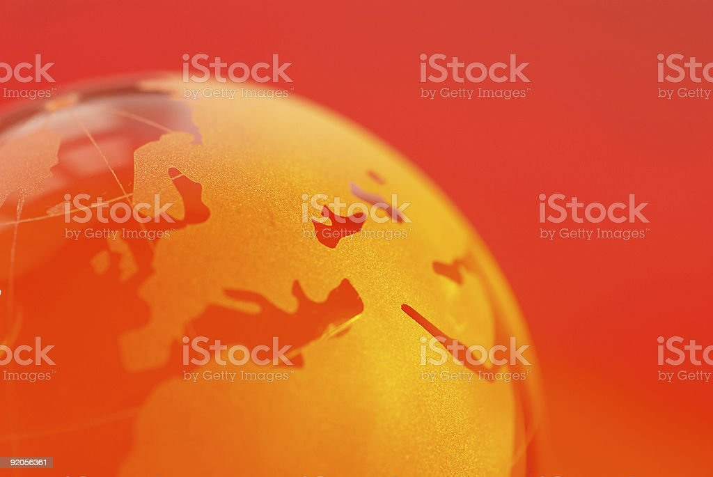 Glass World royalty-free stock photo
