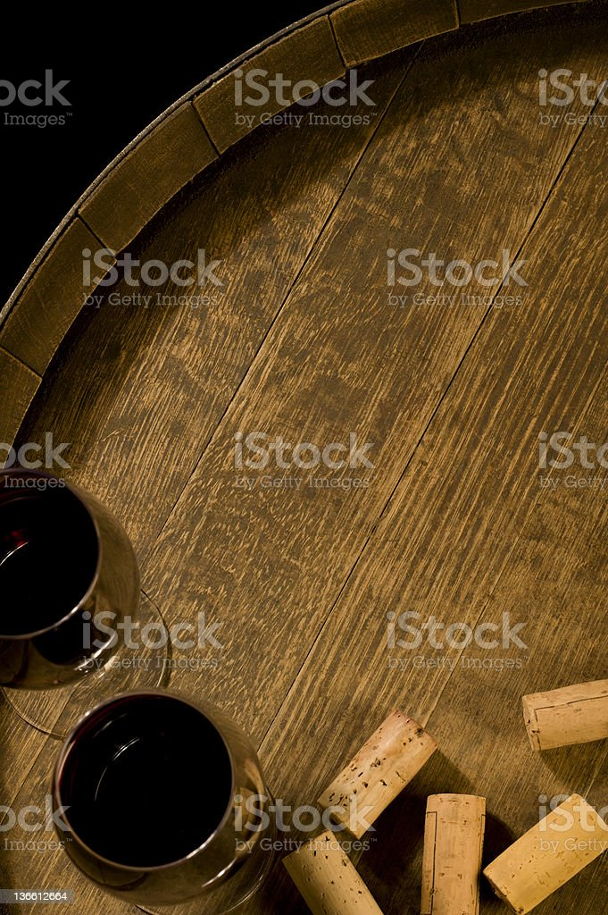 b1d0bb0ad0c088 Glasses And Corks Stock Photo   More Pictures of Alcohol