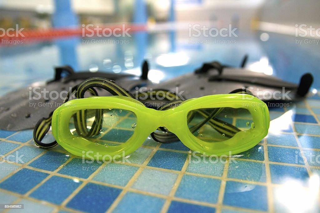Gafas y de paleta foto de stock libre de derechos