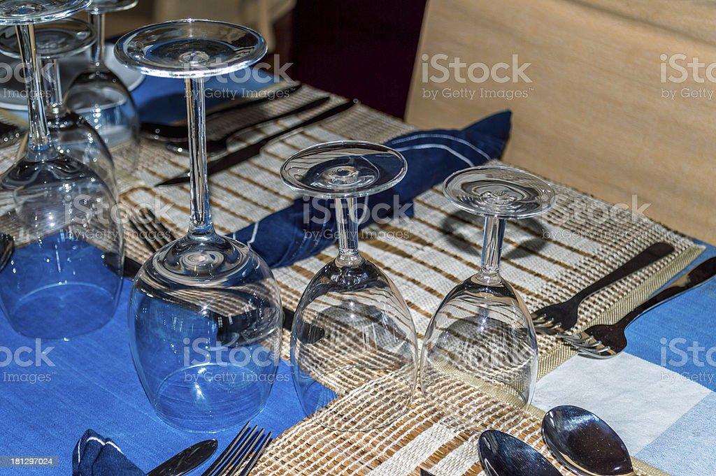 glasses arangement royalty-free stock photo