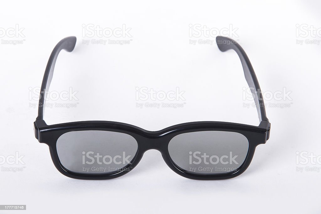 Glasses for Cinema royalty-free stock photo
