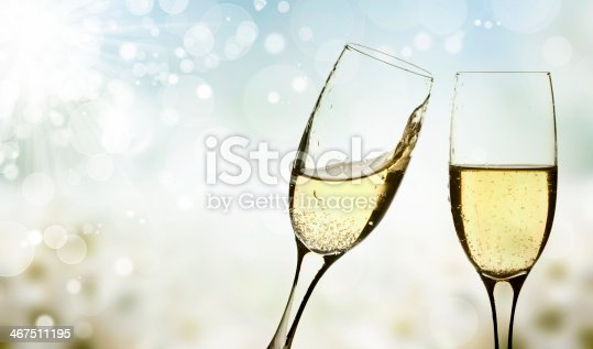 istock Glasses of champagne 467511195