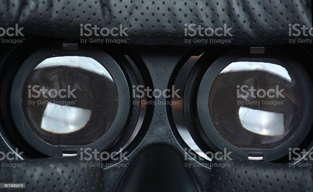 Glasses of reality virtual for smartphone Lizenzfreies stock-foto