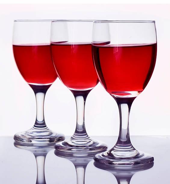 Gläser Rotwein – Foto