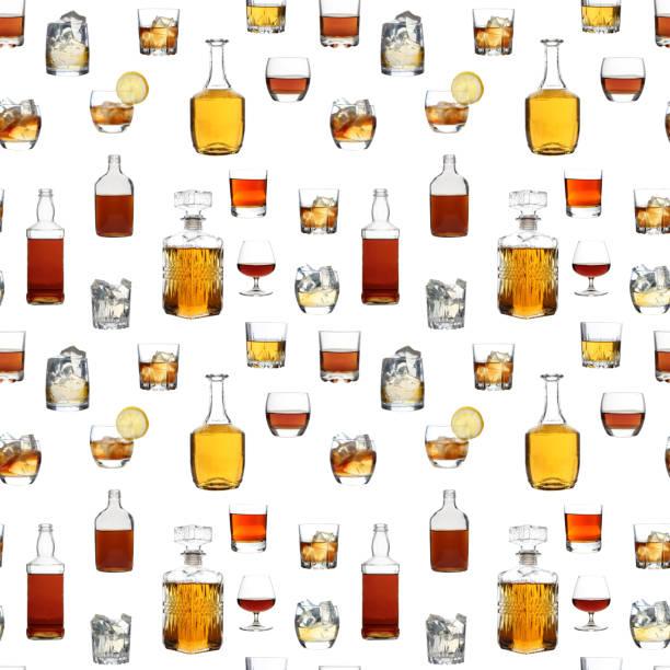 Glasses of whiskey – zdjęcie