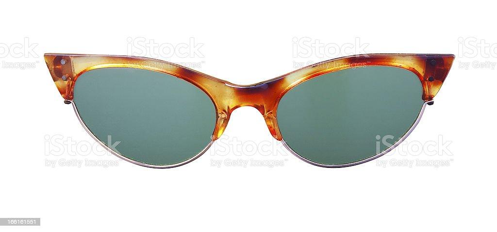 Glasses on white. royalty-free stock photo