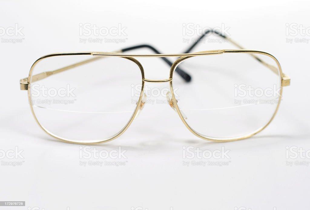 Glasses on White royalty-free stock photo