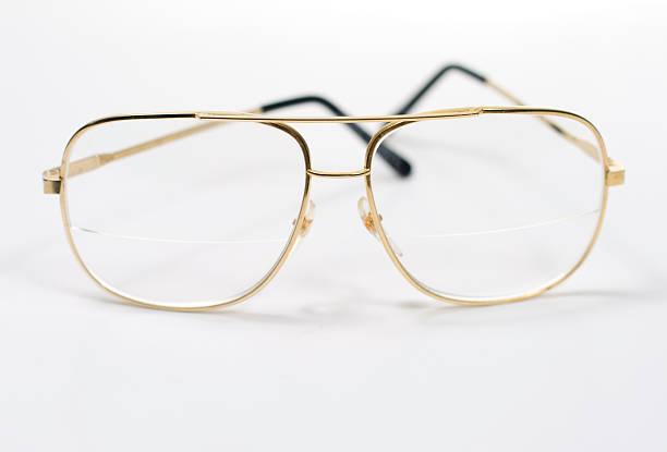 Glasses on White stock photo