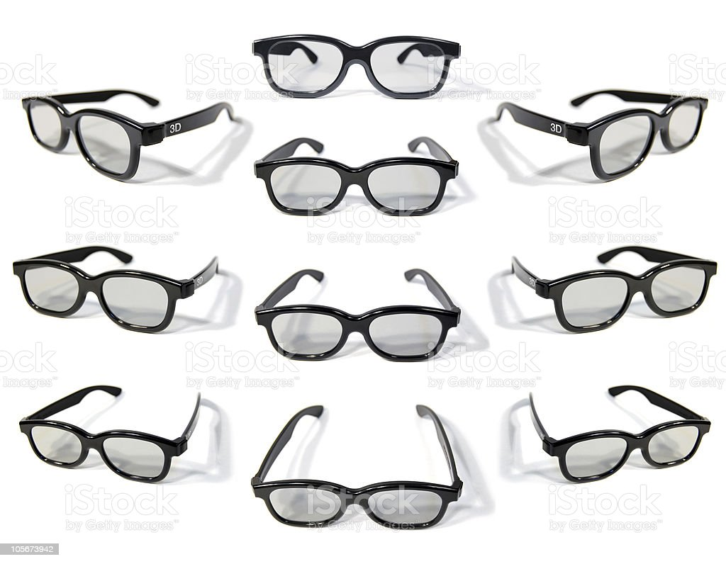 3D Glasses (polarized) stock photo