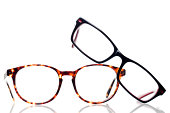 A group of reading glasses