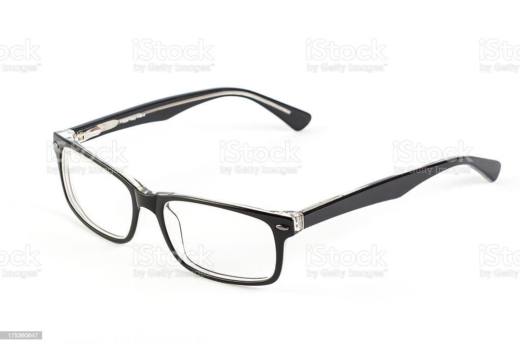 glasses stock photo