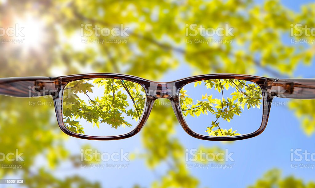 Okulary stock photo