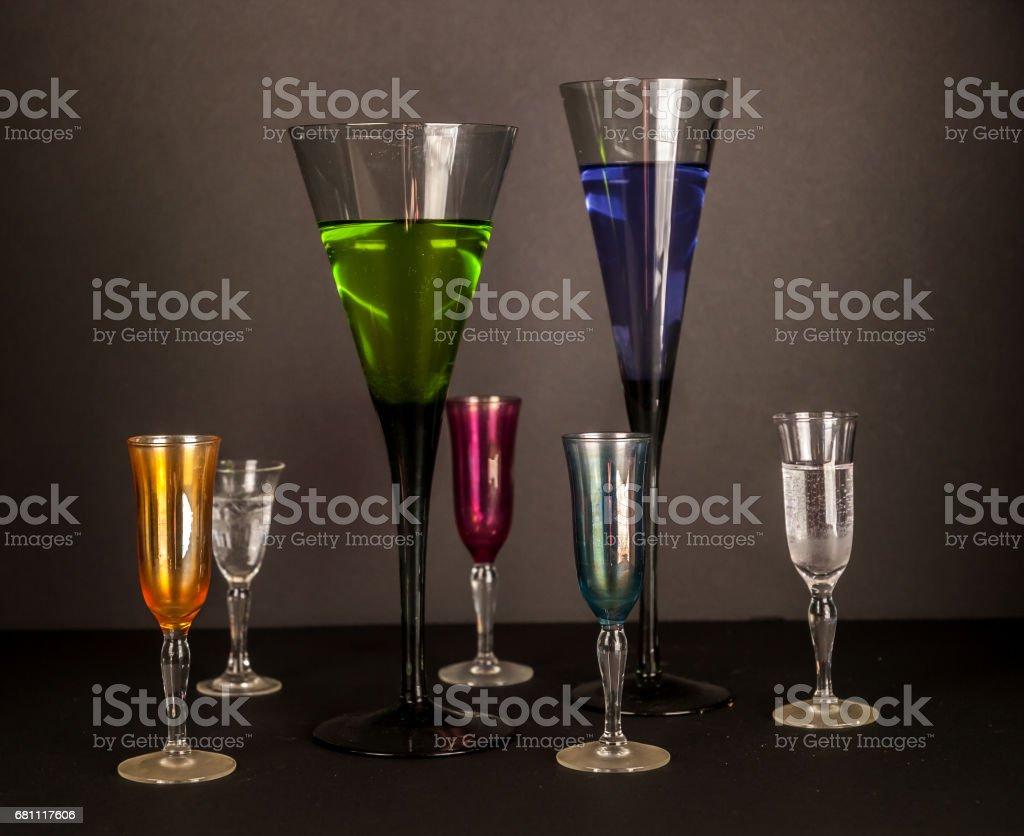 Glasses royalty-free stock photo