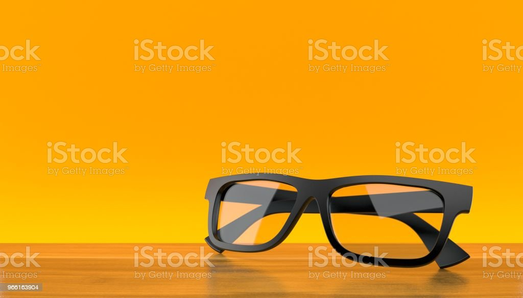 Glasses - Royalty-free Black Color Stock Photo