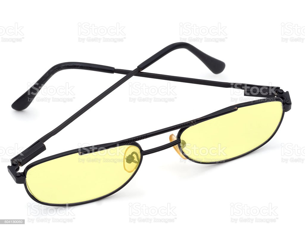 Glasses With Yellow Lenses Dyslexia Computer Use Etc Stock Photo Download Image Now Istock