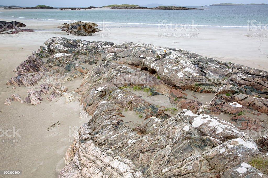 Glassillaun Beach, Connemara; Galway zbiór zdjęć royalty-free
