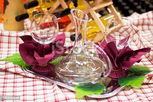 istock Glassware Arrangement 185693345