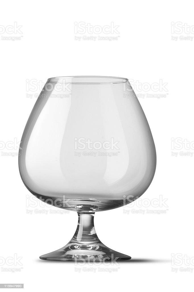 Glassware: Brandy Glass royalty-free stock photo