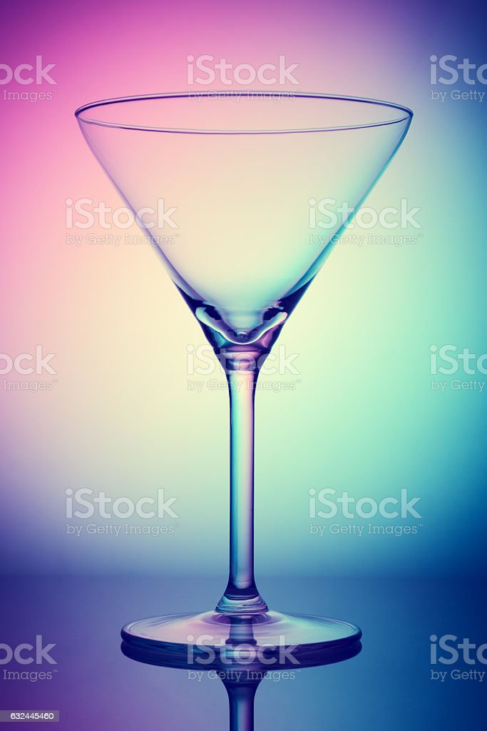 Glassware - Coctail Glass stock photo
