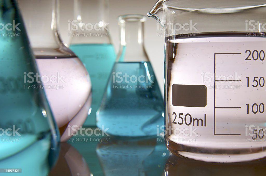 glassware royalty-free stock photo